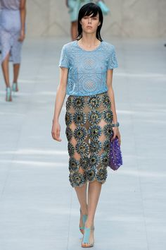 Burberry Prorsum Spring 2014 Ready-to-Wear Collection Slideshow on Style.com #londonfw #fashion #catwalk #rtw