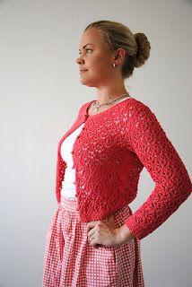 Blog laine tricot crochet | Planète Laine: Modèle tricot gratuit: Cardigan Surry Hills de Mar...