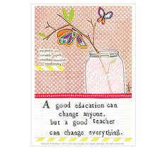 Curly Girl Design | Blog -- The *perfect* card for the teachers in your life! I absolutely love this.