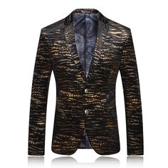 Men Blazer 2016 Mens Leopard Print Blazer Gold Blazer For Men Stage Costumes For Singers Vintage Suits Party Prom Dresses Q62     Tag a friend who would love this!     FREE Shipping Worldwide     Get it here ---> https://ihappyshop.com/men-blazer-2016-mens-leopard-print-blazer-gold-blazer-for-men-stage-costumes-for-singers-vintage-suits-party-prom-dresses-q62/
