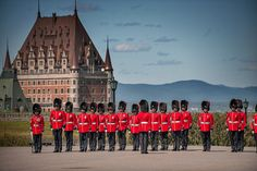 The Citadel (La Citadelle), This fortification at the juncture of the Old City wall and Grande Allée holds a changing of the guard ceremony mornings at complete with traditional bearskin hats, weather permitting. Old Quebec, Quebec City, Attraction, Chateau Frontenac, Destinations, What To Do Today, Canada, Old City, Quebec