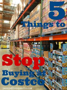 5 Things to Stop Buying at Costco #frugal Frugal Living Tips