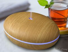 Whisper-Quiet Cool Mist Humidifier - Enjoy Aromatherapy Experience with Your Favorite Scented Essential Oils - Free eReport Download - Ultrasonic Vaporizer with Excellent Mist Disperse Rate - Enlighte