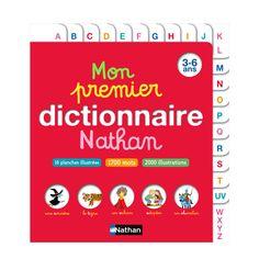 Mon 1er dictionnaire 3-6 ans pour enfant de 3 ans à 6 ans - Oxybul éveil et jeux