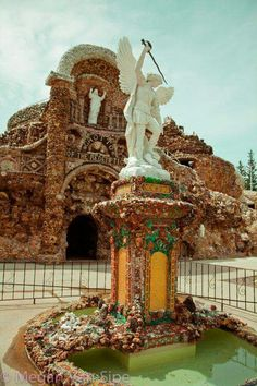 Grotto of Redemption. West Bend Iowa USA