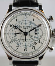 Baume & Mercier CapeLand Flyback Chronograph Telemeter #watch #watches