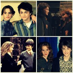 I love this cute faces together Harry Potter New, Harry Potter Artwork, Harry Potter Room, Harry Potter Universal, Hermione Granger Art, Harry Potter Hermione, Harry Potter Characters, Ron Weasley, Daniel Radcliffe Emma Watson