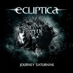 journey saturnine/ecliptica, album cover by Felix Mitterer Hard Rock, Heavy Metal Bands, Album Covers, Journey, Pure Products, Movie Posters, Darkness, Stars, Music