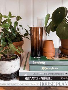 Fikk disse plantebøkene av ei venninne som hadde funnet dem i en bruktbutikk. For en fantastisk gave å gi! Det er så mye mer sjel... #gjenbruk #brukt #grønneplanter #houseplants #interiør Planter Pots, Instagram