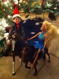 Romantic Elf  - Ken doll clothes fit him perfect.