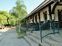 Miranda (MS) - Brasil - antiga estação ferroviária, atual complexo cultural