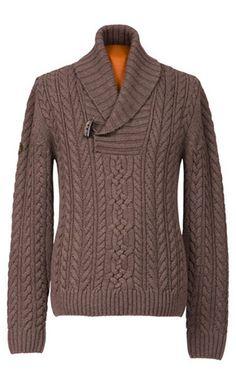 Cable Knit 100% Merino Wool Jumper Sweater for Men & Women: John Field Hunting & Shooting Accessories: Good Shot Design