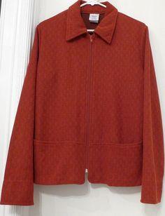 Vintage Earth Tone Zipper Jacket / Blazer by BibbysRocket
