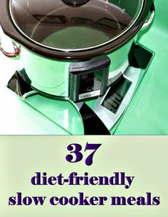 You can still eat healthy if you want to use your crockpot for dinner!