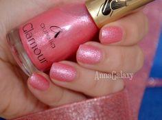 Anna Galaxy: Aurelia. Лак для ногтей Glamour G42 velvet effect
