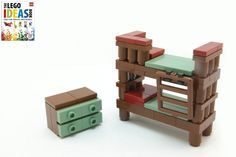 2011 - dk book child's bedroom - models commissioned for dorling-kindersley's lego ideas book