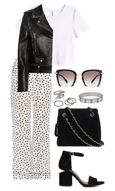 """""""Untitled #776"""" by elipenaserrano ❤ liked on Polyvore featuring Dolce&Gabbana, Chanel, Alexander Wang, Miu Miu, H&M, Yves Saint Laurent, Cartier, Pieces and Alexander McQueen"""