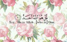 Al-Quran.112:1