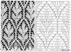 Irish lace, crochet, crochet patterns, clothing and decorations for the house, crocheted. Crochet Diagram, Crochet Chart, Crochet Motif, Irish Crochet, Crochet Stitches, Free Crochet, Knit Crochet, Crochet Patterns, Crochet Skirts