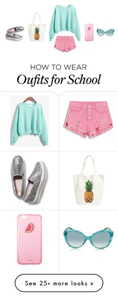 """Summer School"" by onecrystal on Polyvore featuring Keds, Jimmy Choo and BP."