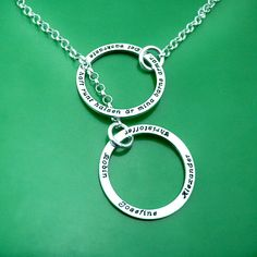 "#Personalized jewelry. <3  ""The most beautiful I´ve had around my neck are my childrens arms"""