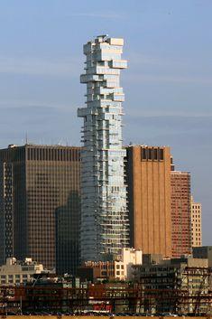 new york irregular skyscraper – Vyhledávání Google List Of Tallest Buildings, Jenga Tower, Leonard Street, Building Development, Nyc Skyline, Bank Of America, Herzog, Lower Manhattan, Wall Street Journal