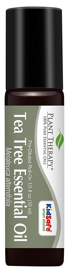 Tea Tree (Melaleuca) Pre-Diluted Essential Oil Roll-On 10 ml (1/3 fl oz). Ready to use! >>> Special  product just for you. See it now! : pure essential oils
