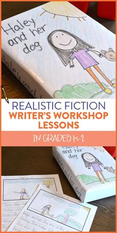 I love teaching my first and second graders to write realistic fiction. This writer's workshop unit outlines how to have students begin with a character and brainstorm a setting, problem and solution to write about. Students end up with their own stories and some even write chapter books! Head on over to the blog post to see more.