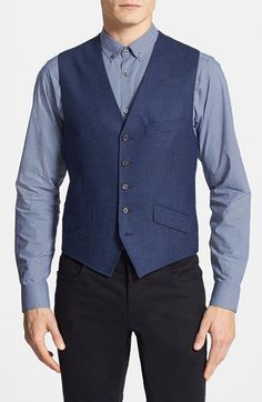 Ted Baker London 'Jaguar' Wool Vest