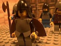 #19 Here is a rendition of Beowulf in Lego's.  I personally really like Lego's and I think it is a great way for students to connect to something that is far removed from their culture.  I hope to use this in the future when I teach.