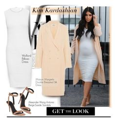 """Get The Look: Kim Kardashian"" by hamaly ❤ liked on Polyvore"