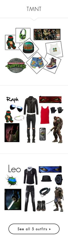 """""""TMNT"""" by nanosmiles ❤ liked on Polyvore featuring Marc by Marc Jacobs, fans, teen, Simplex Apparel, Balmain, RtA, ZeroUV, Casall, men's fashion and menswear"""
