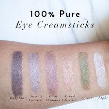 The Beauty Vanity 100 Percent Pure, 100 Pure, Beauty Vanity, Clean Beauty, Natural Beauty, Cruelty Free Makeup, Swatch, Tattoo Quotes, The 100