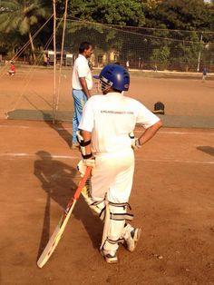 Cricket Summer Camp - coaching the young cricketers