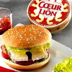 Hamburger au camembert