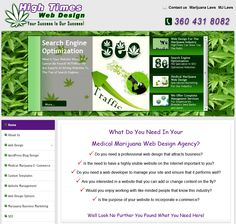 Hightimes Web Design specializes in developing websites for the Marijuana Industry that need a high degree of visibility. Hightimes Web Design offer Professional Content Management System Website Designs and Development. Our websites are all developed in Joomla CMS. Joomla is quite possibly the finest web design platform in the world.