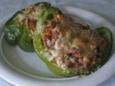 Quinoa Stuffed Peppers - Low Calorie Recipe for Quinoa Stuffed Peppers
