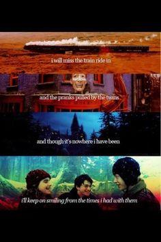 Harry Potter, forever living.