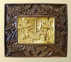 Wall Art Wood carving Dream DRAGON Arts and Crafts by MariyaArts, $1300.00
