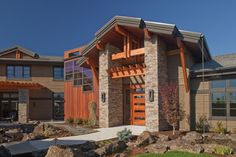 Highland's home in Bend, OR - contemporary craftsman - exterior - portland - Norman Building & Design