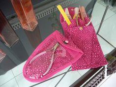Porta alicate ou bolsa manicure