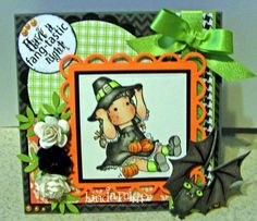 Linda's Stamping Blog: Pumpkin Girl!