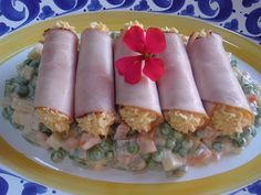 Russian Recipes, Fresh Rolls, Finger Foods, Sushi, Sausage, Appetizers, Easter, Ethnic Recipes, Drinks