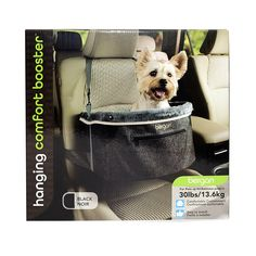 Bergan Hanging Car Booster for Small Breeds, Black: Amazon.ca: Pet Supplies