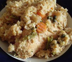 mt doom chicken with mt dew Crock Pot Freezer, Freezer Meals, Fried Rice, Crockpot Recipes, Risotto, Cauliflower, Favorite Recipes, Chicken, Dinner