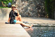 me by the pool at X2 Kui Buri