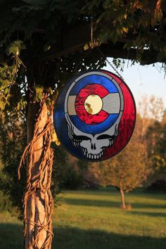 Steal Your Mile High - Grateful Dead Colorado Stealie Stained Glass