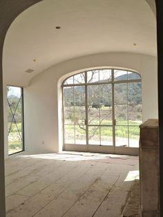Inspired Design: Steel Windows and Doors Doors And Floors, Windows And Doors, Arch Windows, Patina Farm, Steel Windows, Scandinavian Home, Architecture Details, French Doors, Great Rooms