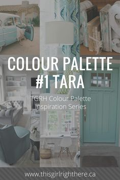 Tara {Part of the TGRH Colour Inspiration Series} Colour Inspiration, Palette, Branding, Color, Home Decor, Palette Table, Colour, Homemade Home Decor, Brand Identity