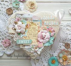 Handmade by Nadya Drozdova: Вязаное сердечко для моего самого любимого человечка.. и море улыбок!